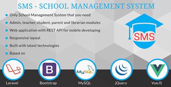 SMS - School Management System